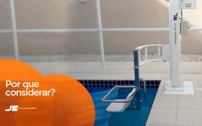Por que considerar a acessibilidade em piscinas?