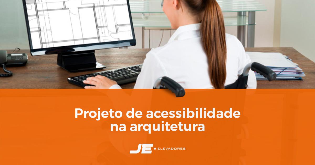 Projeto de acessibilidade na arquitetura