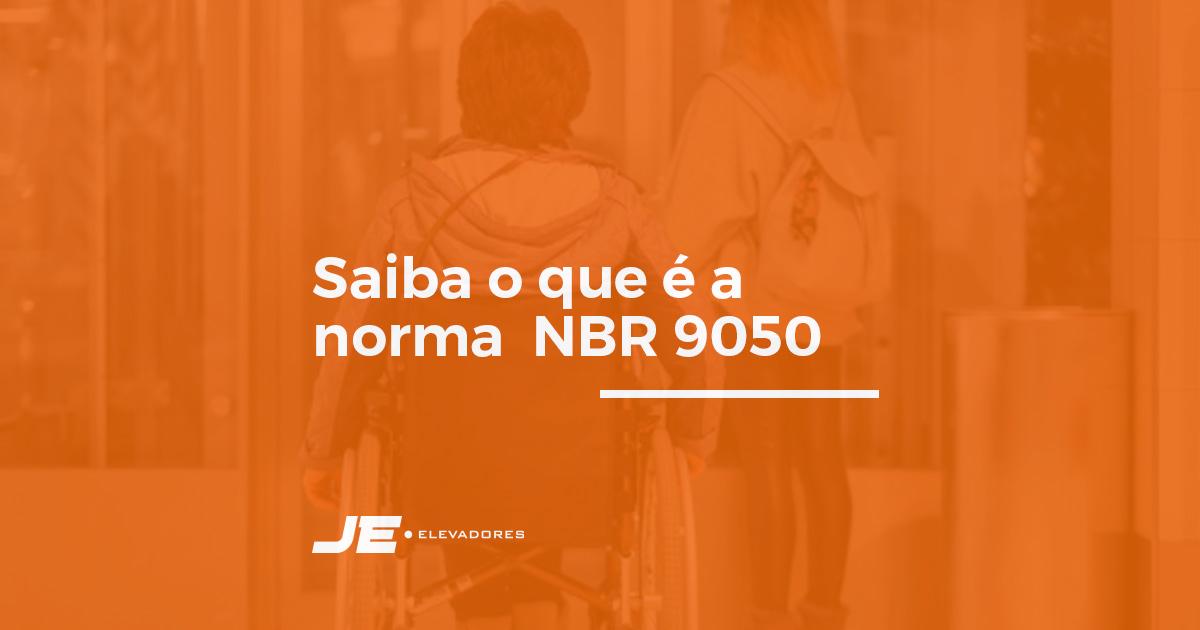NBR 9050: conheça essa norma