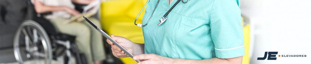 Acessibilidade para deficientes dentro da unidade de saúde