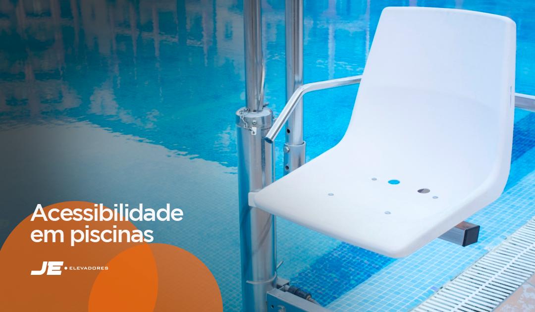 Acessibilidade em piscinas para clubes e áreas de lazer neste verão