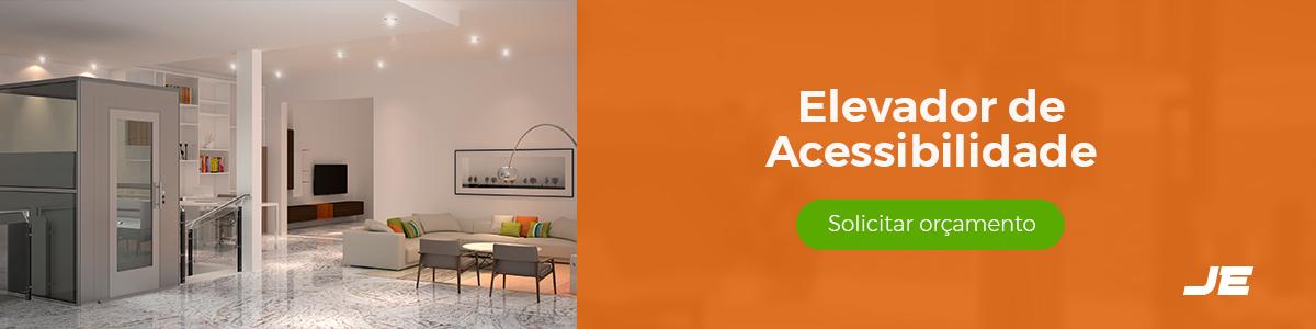 Precisando de um Elevador de Acessibilidade? Solicite-nos um orçamento de um elevador de acessibilidade e conheça as principais vantagens! | JE Elevadores