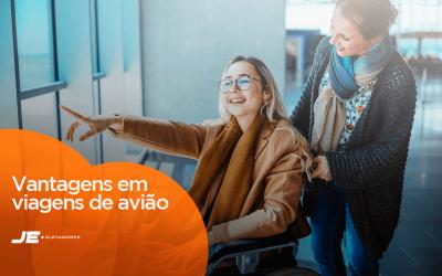 Entenda os direitos das pessoas com mobilidade reduzida em viagens de avião