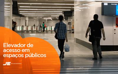 Saiba a importância do elevador de acesso em espaços públicos