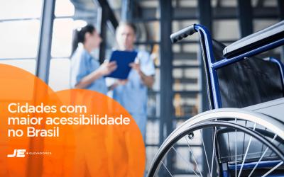 Cidades com maior acessibilidade no Brasil