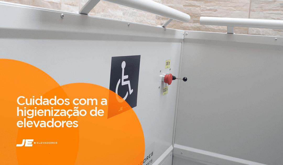 Cuidados com a higienização de elevadores de acessibilidade