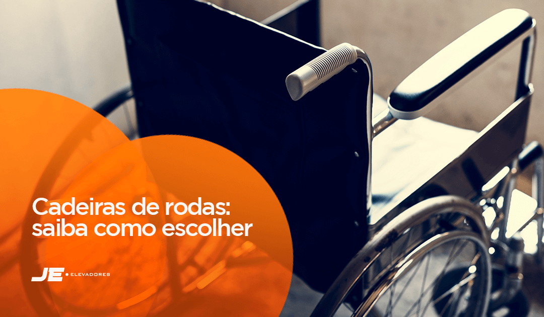 Tipos de cadeiras de rodas - Na imagem tem uma cadeira de rodas representando o conteúdo.