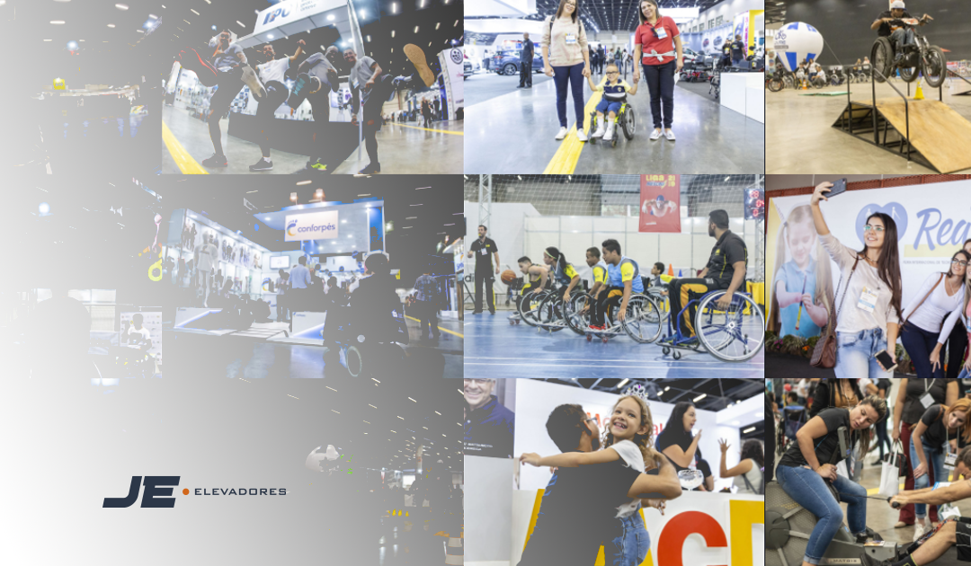 Reatech 2021 - na imagem tem fotos do evento realizado nos anos anteriores