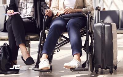 Fique por dentro da acessibilidade em voos e aeroportos